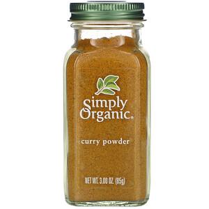 Симпли Органик, Curry Powder, 3.00 oz (85 g) отзывы