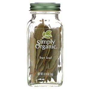 Симпли Органик, Bay Leaf, 0.14 oz (4 g) отзывы