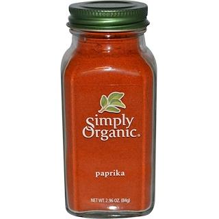 Simply Organic, Paprika, 2.96 oz (84 g)