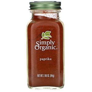 Симпли Органик, Paprika, 2.96 oz (84 g) отзывы покупателей