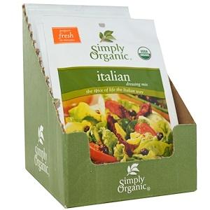 Симпли Органик, Italian Dressing Mix, 12 Packets, 0.70 oz (20 g) Each отзывы