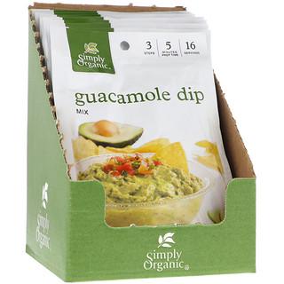 Simply Organic, Guacamole Dip Mix, 12 Packets, 0.80 oz (23 g) Each
