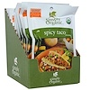 Simply Organic, スパイシータコシーズニング、 12包、 各1.13オンス (32 g)