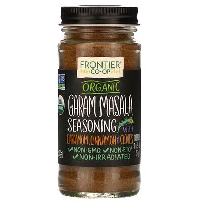 Simply Organic Organic Graham Masala Seasoning with Cardamom, Cinnamon & Cloves, 1.79 oz (51 g)