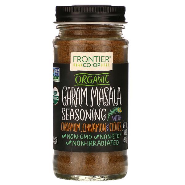 Organic Graham Masala Seasoning with Cardamom, Cinnamon & Cloves, 1.79 oz (51 g)