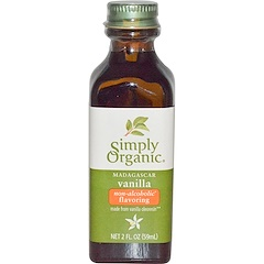 Simply Organic, Madagascar Vanilla, Non-Alcoholic Flavoring, Farm Grown , 2 fl oz (59 ml)
