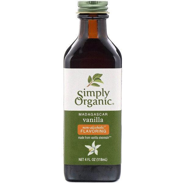 Madagascar Vanilla, Non-Alcoholic Flavoring, Farm Grown , 4 fl oz (118 ml)