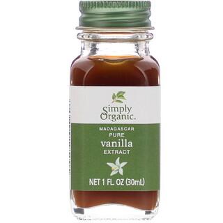 Simply Organic, Madagascar Pure Vanilla Extract, 1 fl oz (30 ml)