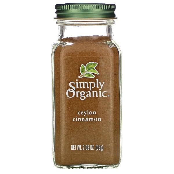 Organic Ceylon Cinnamon, 2.08 oz (59 g)