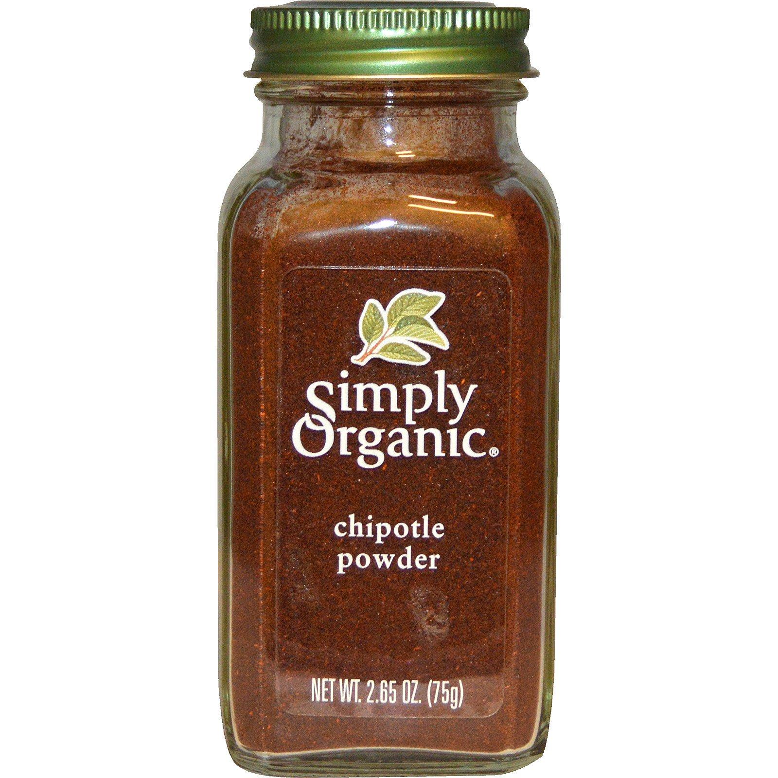 Simply Organic, Органический порошок халапено, 2,65 унции (75 г)