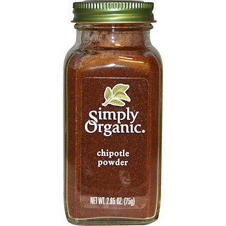 Simply Organic, Organic Chipotle Powder, 2.65 oz (75 g)