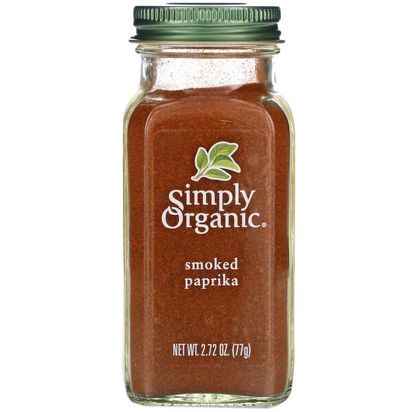 Paprika ahumada orgánica, 2.72 oz (77 g)