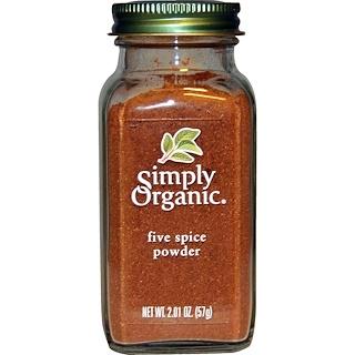 Simply Organic, Five Spice Powder, 2.01 oz (57 g)