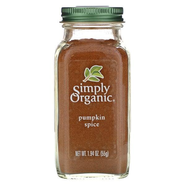 Simply Organic, بهار القرع، 1.94 أونصة (55 غ)