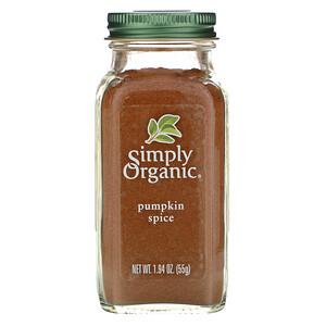 Симпли Органик, Pumpkin Spice, 1.94 oz (55 g) отзывы покупателей