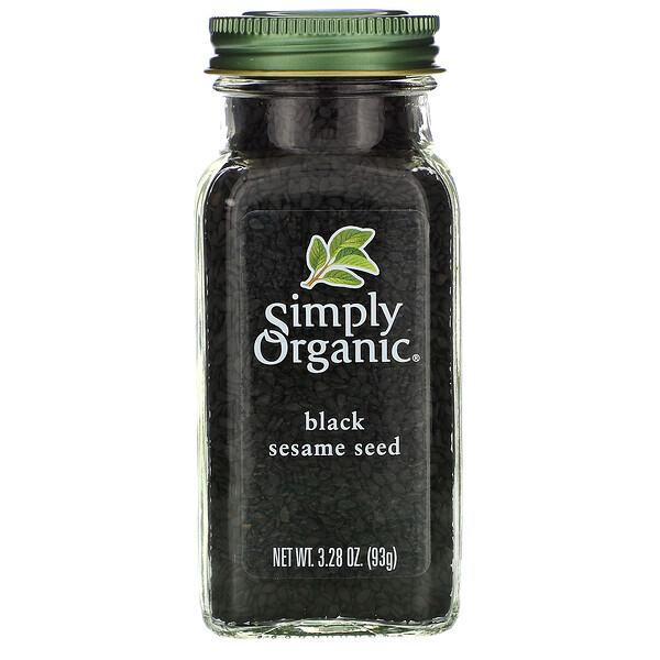 Organic, Black Sesame Seed, 3.28 oz (93 g)