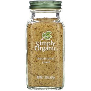 Симпли Органик, Organic, Nutritional Yeast, 1.32 oz (37 g) отзывы покупателей