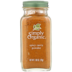 Simply Organic, Spicy Curry Powder, 2.80 oz (79 g)