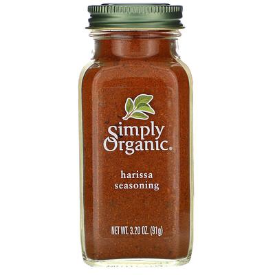 Simply Organic Приправа харисса, 91 г