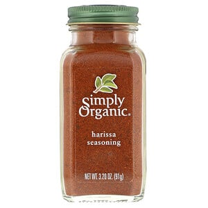 Simply Organic, Harissa Seasoning, 3.20 oz (91 g)