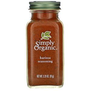 Симпли Органик, Harissa Seasoning, 3.20 oz (91 g) отзывы покупателей