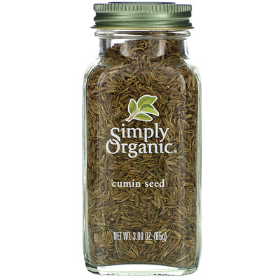 Купить Simply Organic Семена тмина, 85г