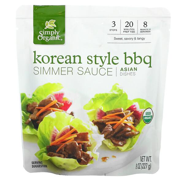 亚洲菜肴,韩式烧烤酱,8 盎司(227 克)
