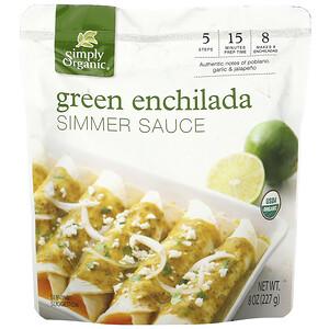 Симпли Органик, Organic  Green Enchilada Simmer Sauce,  8 oz (227 g) отзывы