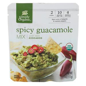 Симпли Органик, Organic Spicy Guacamole Mix, 4 oz (113 g) отзывы покупателей
