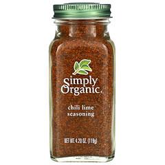 Simply Organic, 辣椒青檸調味料,4.20 盎司(119 克)
