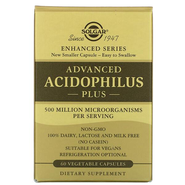 Advanced Acidophilus Plus, 60 Vegetable Capsules