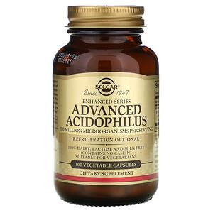 Солгар, Advanced Acidophilus, 100 Vegetable Capsules отзывы