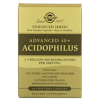 Solgar, Advanced 40+ Acidophilus, 60 Vegetable Capsules