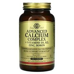 Solgar, 升級版鈣&維生素D3&鋅&鉀&硼元素複合膳食補充片,120片