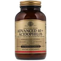 Улучшенный ацидофилус 40+, 120 вегетарианских капсул - фото