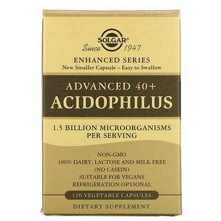 Solgar, Advanced 40+ Acidophilus, 120 Vegetable Capsules