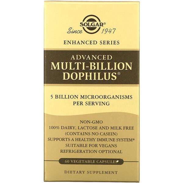 Advanced Multi-Billion Dophilus, 60 Vegetable Capsules