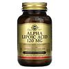 Solgar, Alpha Lipoic Acid, 120 mg, 60 Vegetable Capsules