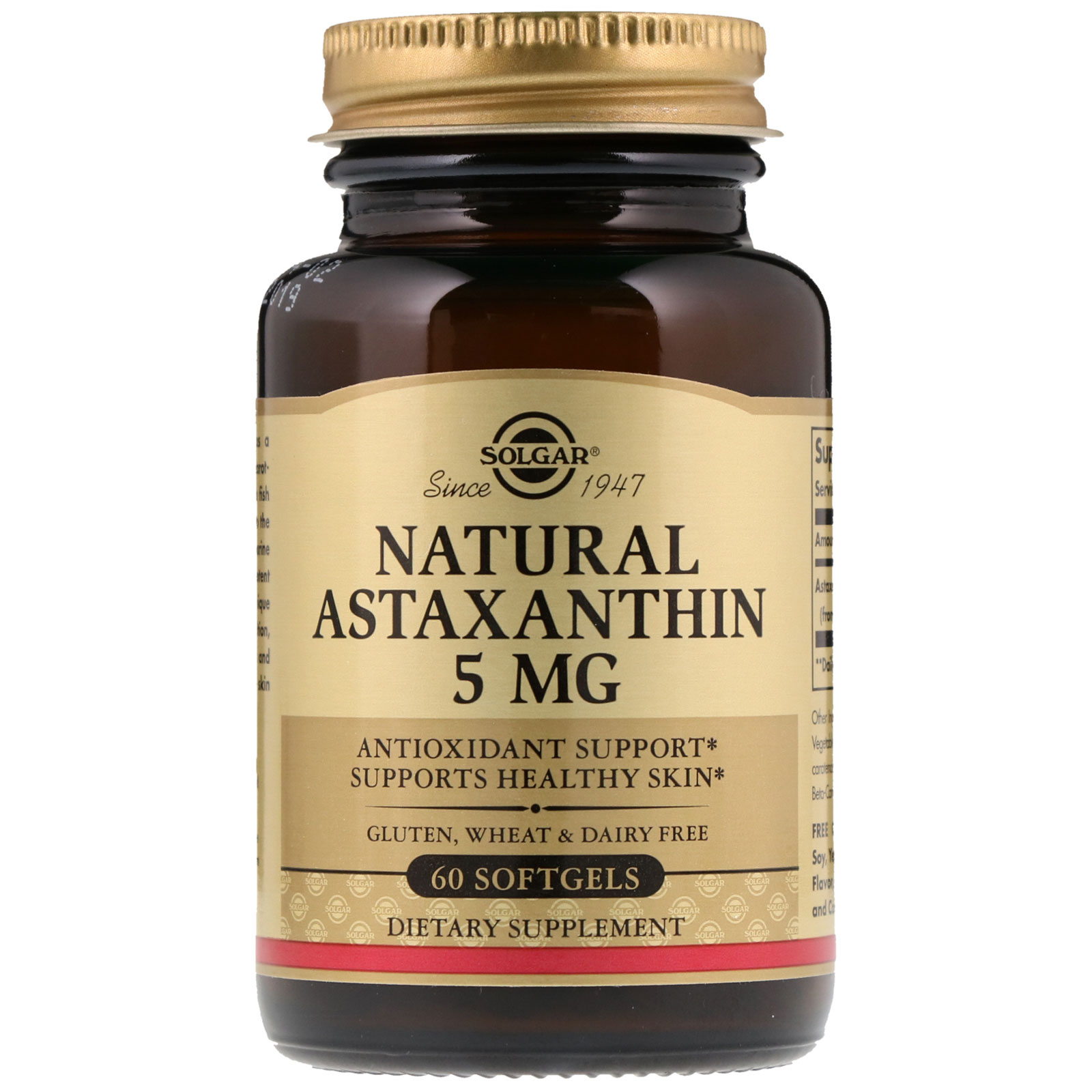 Image result for Solgar, Natural Astaxanthin
