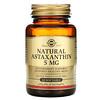 Solgar, Natural Astaxanthin, 5 mg, 60 Softgels