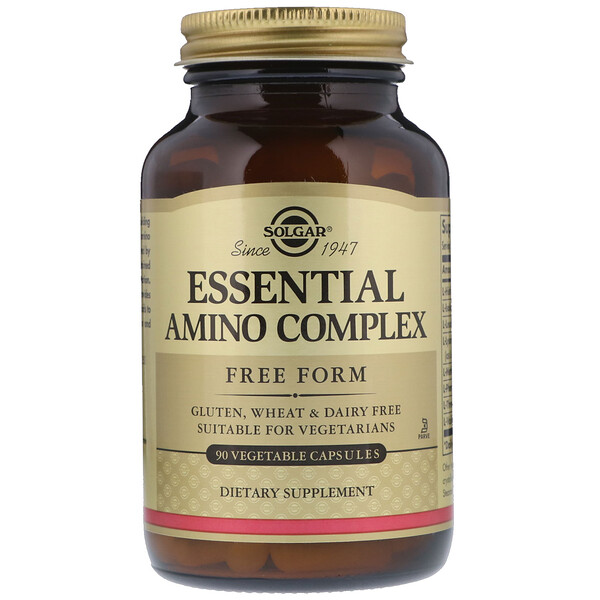 Essential  Amino Complex, 90 Vegetable Capsules