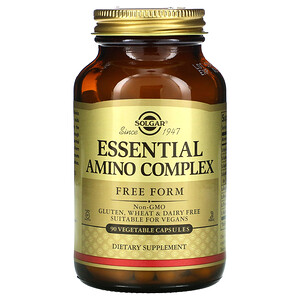 Солгар, Essential  Amino Complex, 90 Vegetable Capsules отзывы покупателей