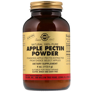 Solgar, Apple Pectin Powder, 4 oz (113.4 g)