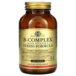 Solgar, B-Complex with Vitamin C Stress Formula, 250 Tablets