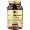 Solgar, Dry Beta-Carotene, 3,000 mcg, 250 Tablets
