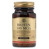 Отзывы о Solgar, Биотин, 300 мкг, 100 таблеток