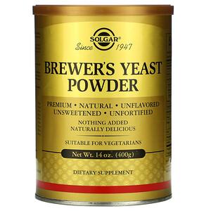 Солгар, Brewer's Yeast Powder, 14 oz (400 g) отзывы покупателей