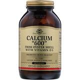 Отзывы о Solgar, Кальций «600» из раковин устриц, с витамином D3, 240 таблеток
