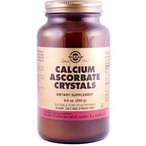 Solgar, Calcium Ascorbate Crystals, 8.8 oz (250 g) (Discontinued Item)