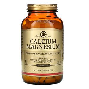 Солгар, Calcium Magnesium, 250 Tablets отзывы